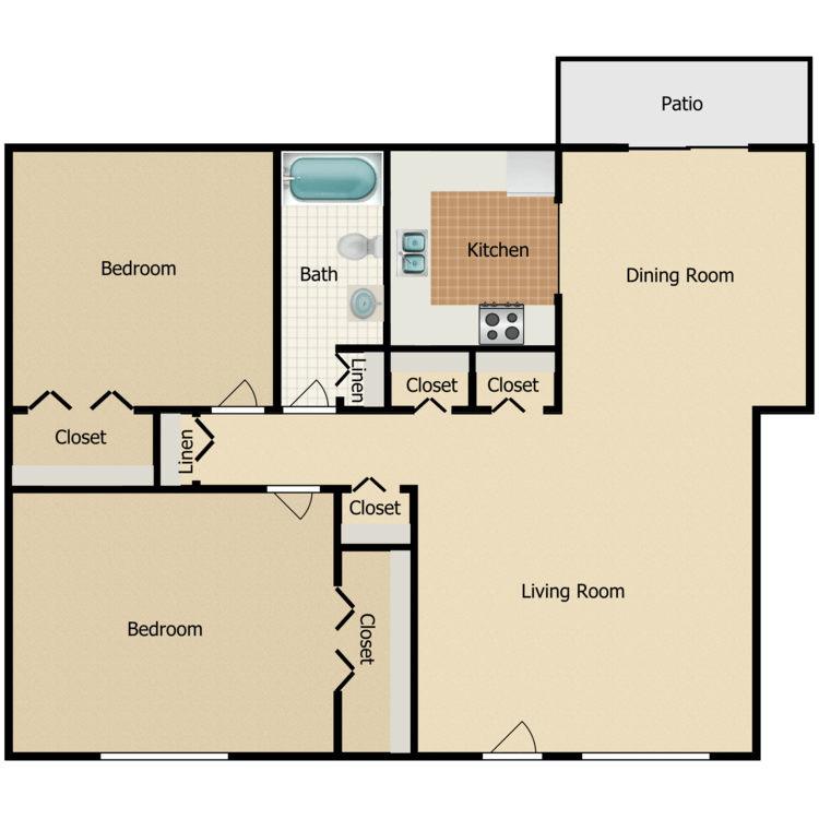 Laurel Oak floor plan image