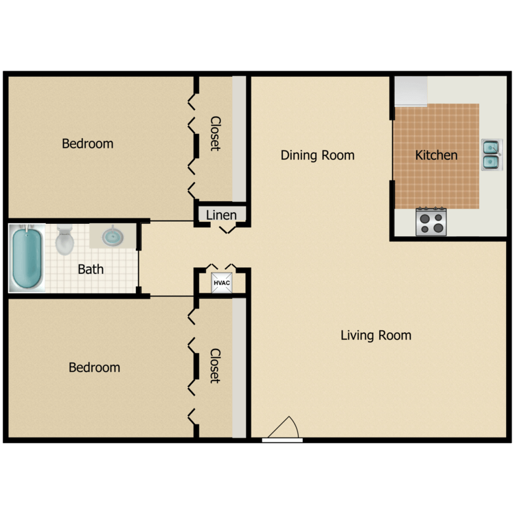 Vine floor plan image