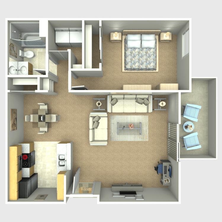 Antigua floor plan image