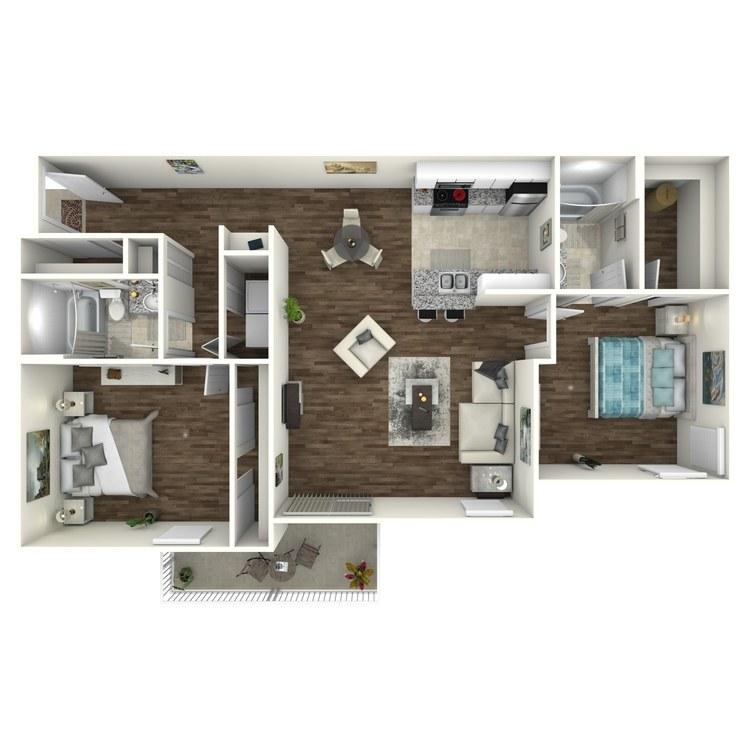Grand Cayman Premium floor plan image
