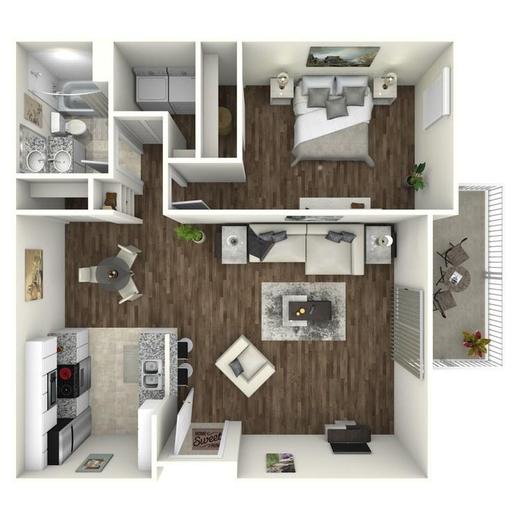 Antigua Premium floor plan image