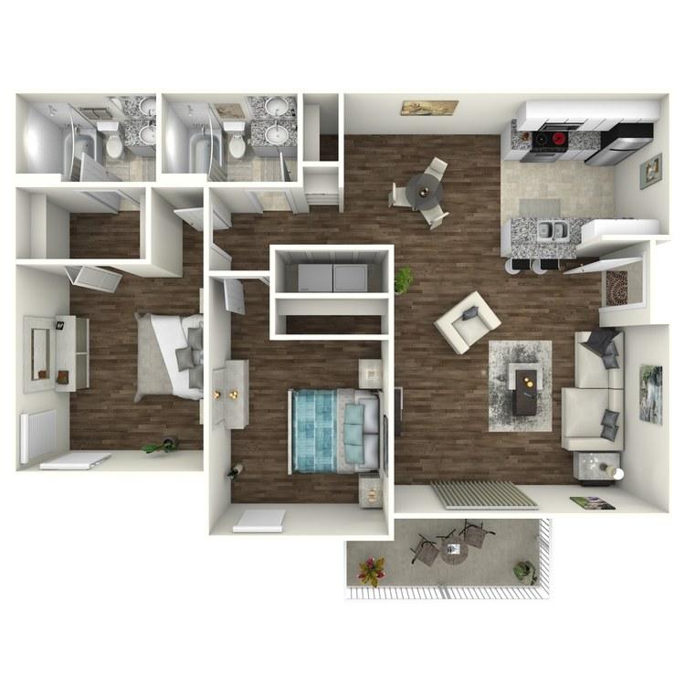 Martinique floor plan image