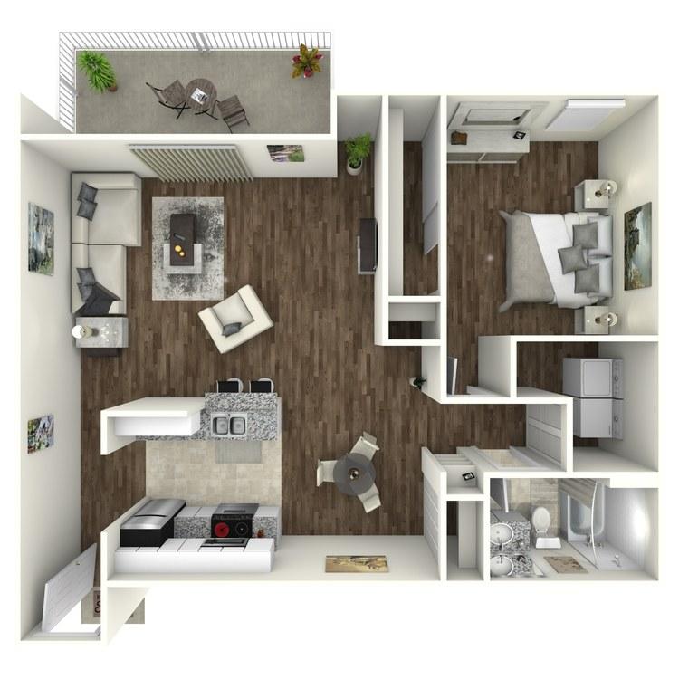 Aruba floor plan image