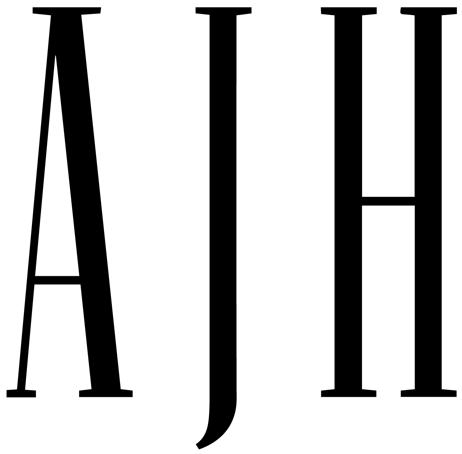 AJH Management Company Logo