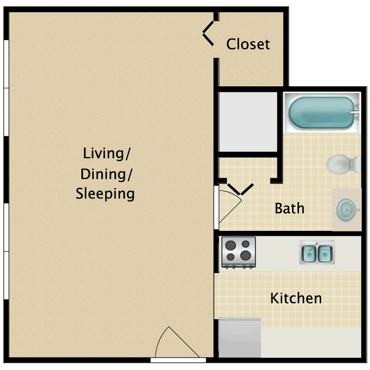 Floor plan image of The Ripley