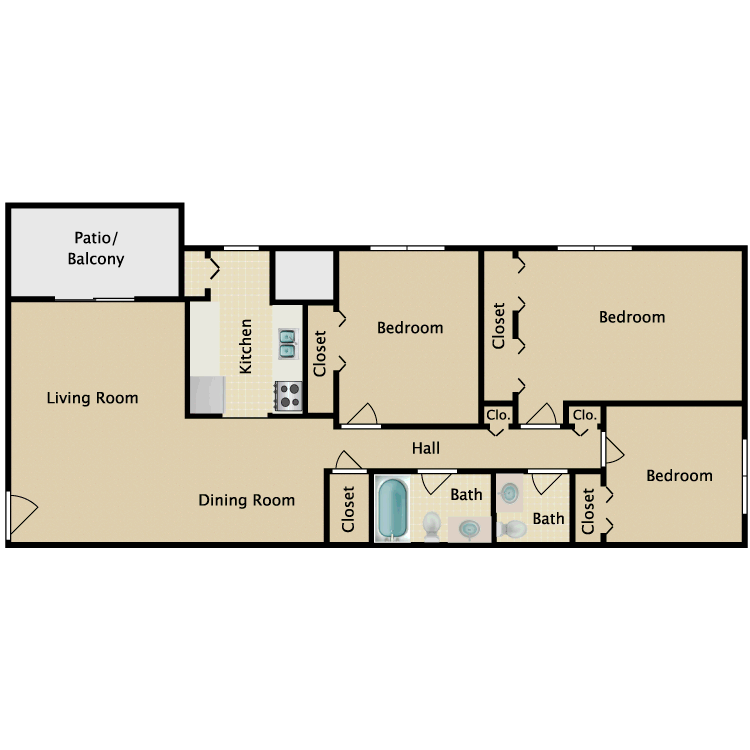 Floor plan image of The Lynford