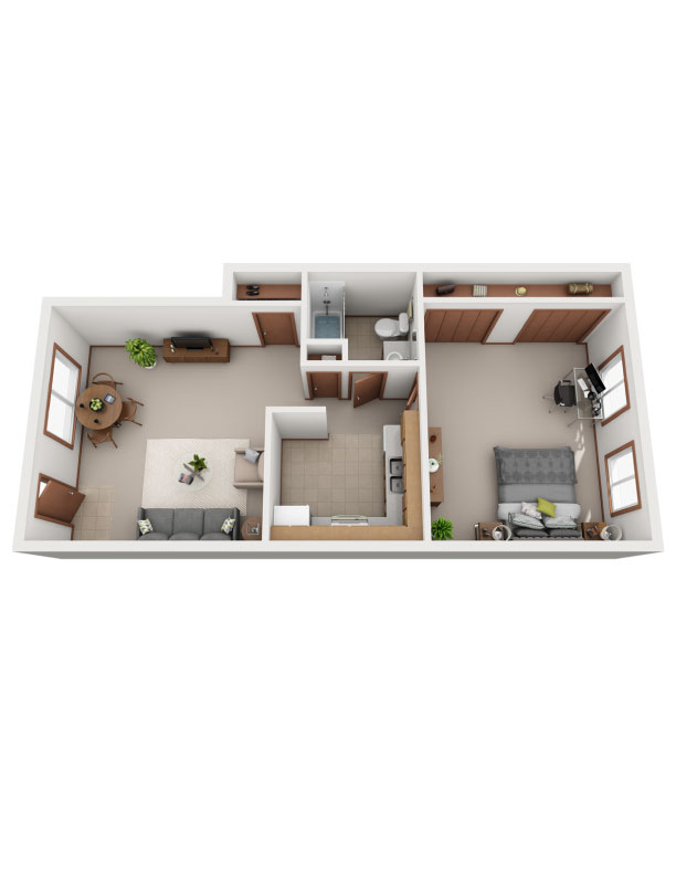 Floor plan image of The Persimmon
