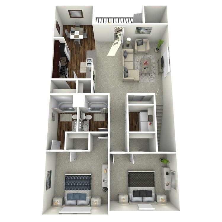 Floor plan image of The Oggeechee