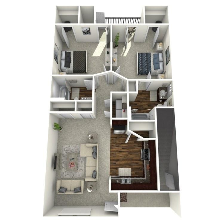 Floor plan image of The Savannah