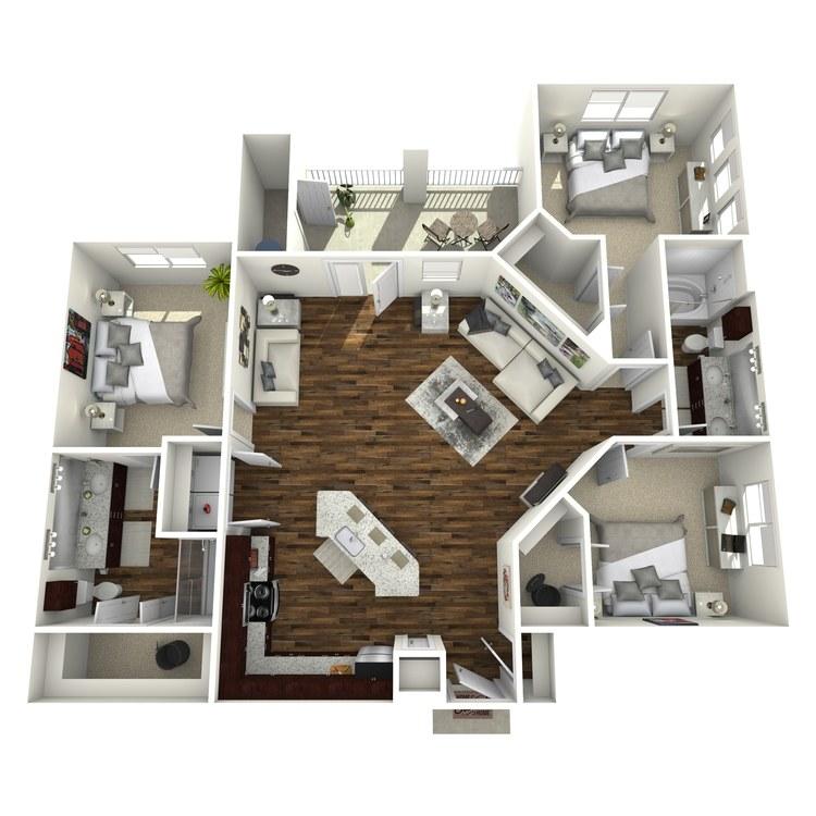 Floor plan image of C1 Sterling