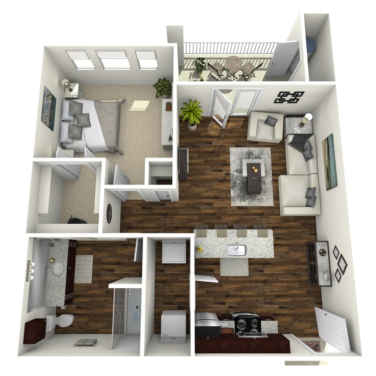 Floor plan image of A2 Brentwood