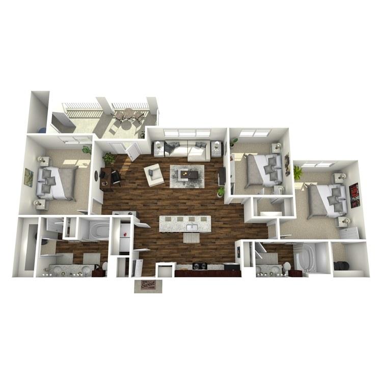 Floor plan image of C2 Wellington