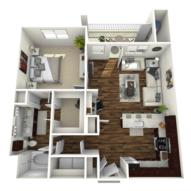 Floor plan image of A4 Fairways