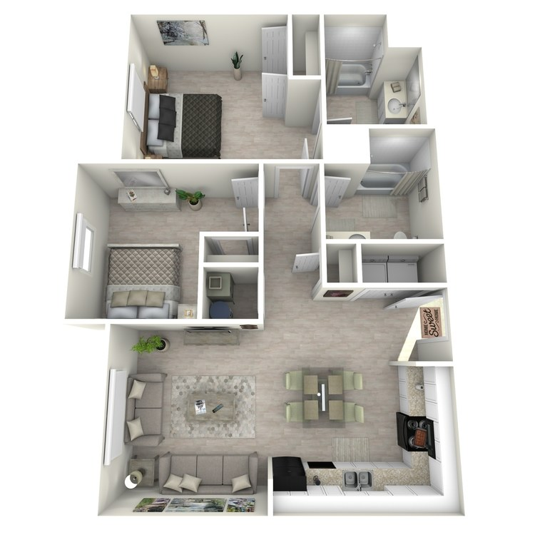 Floor plan image of The Lily