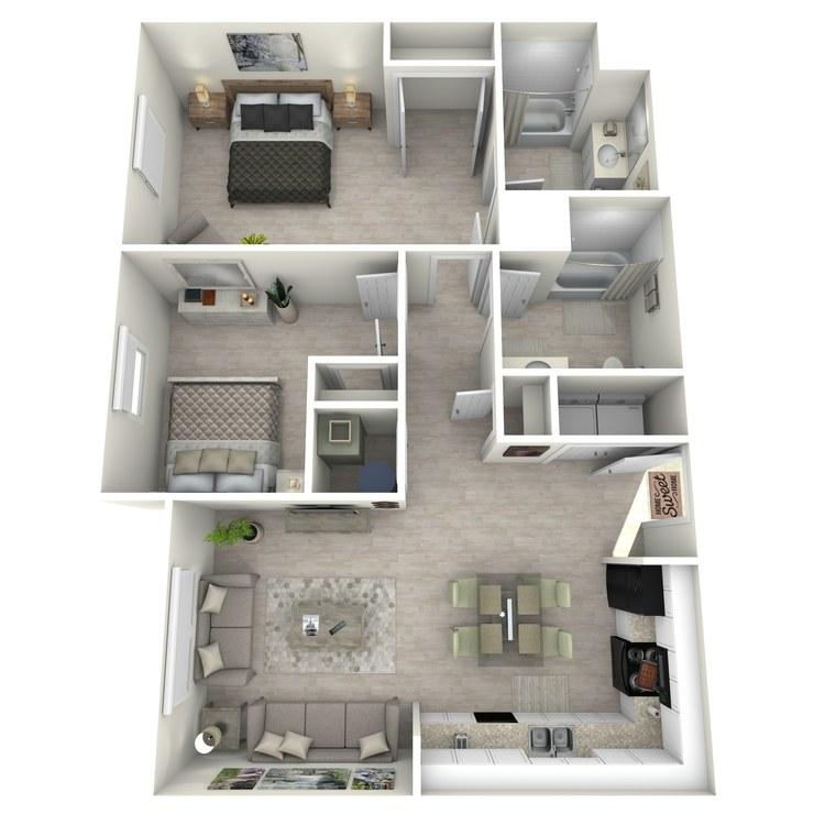 Floor plan image of The Poppy