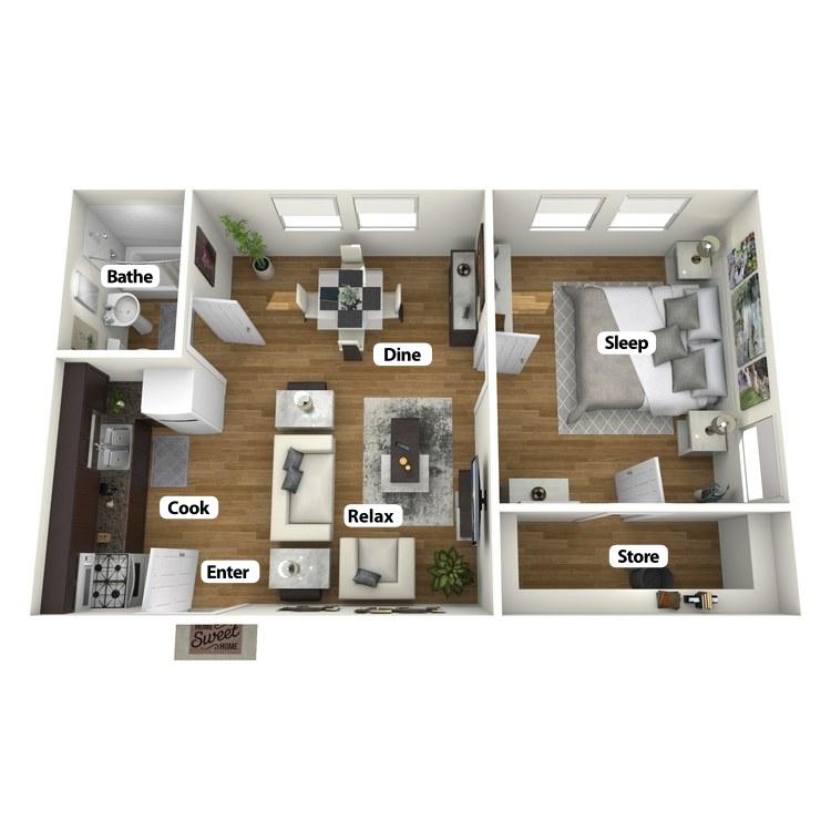 Floor plan image of Griggs Room