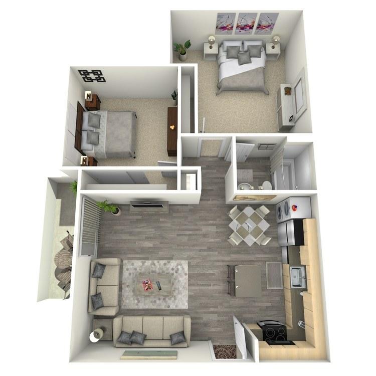 Floor plan image of Magnolia