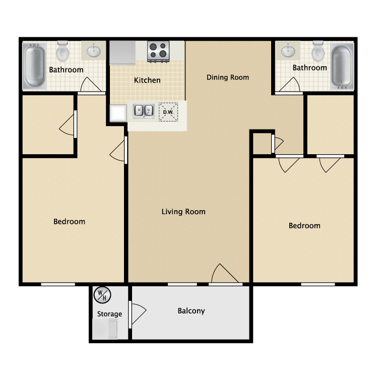 Floor plan image of Casita Home
