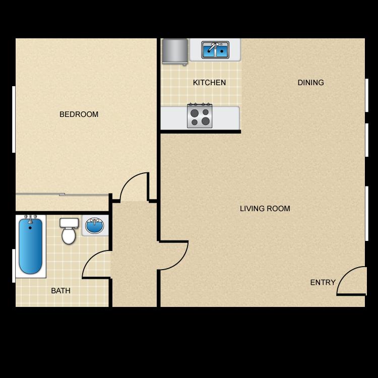 Floor plan image of The Landing 2