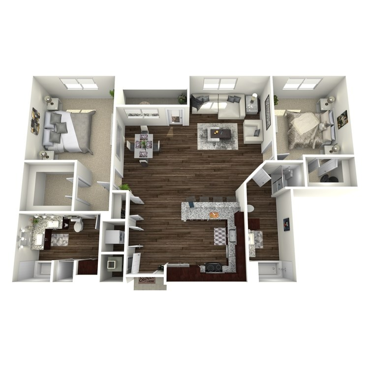 Floor plan image of B11-Highland