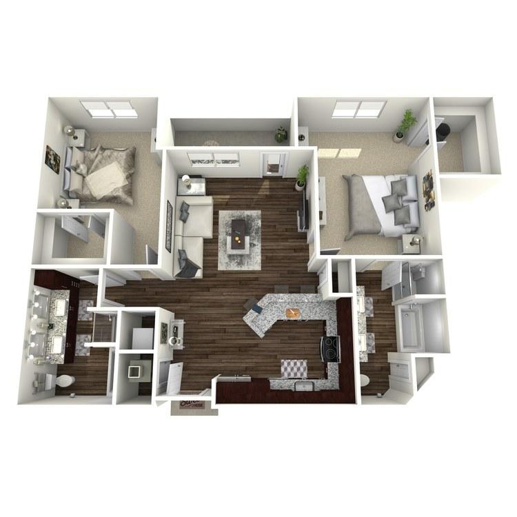 Floor plan image of B10-Highland