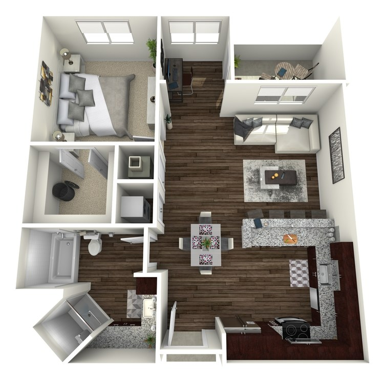 Floor plan image of A2a-Highland