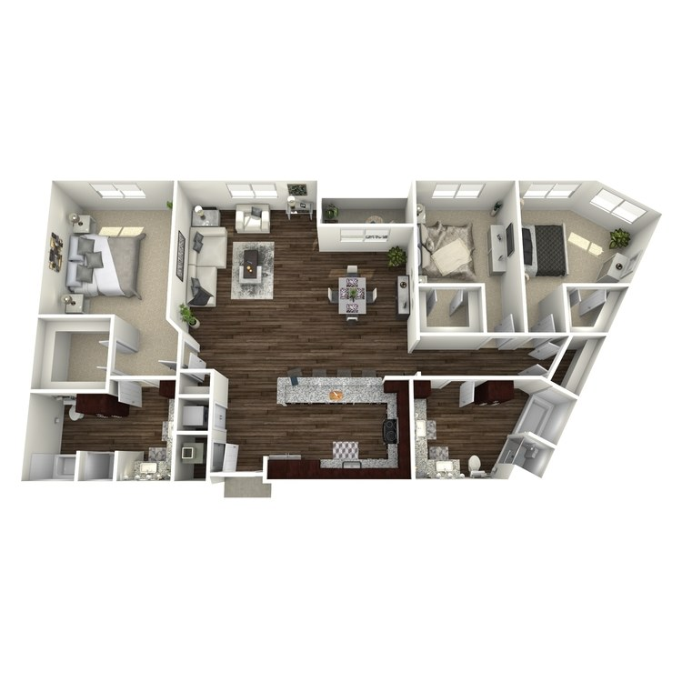 Floor plan image of C2-Highland