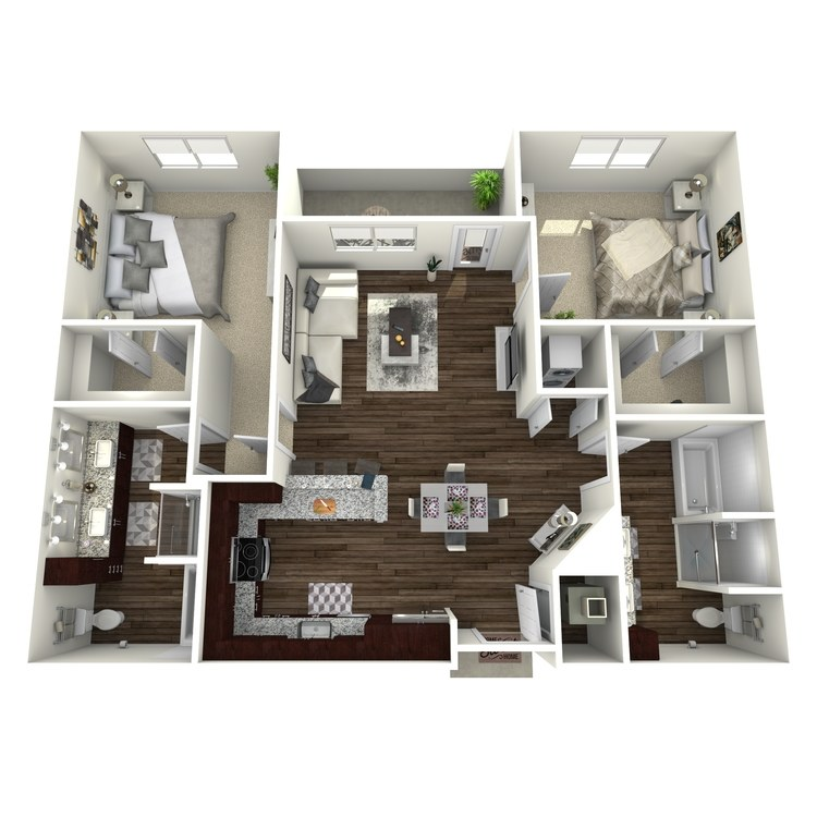 Floor plan image of B1-Highland