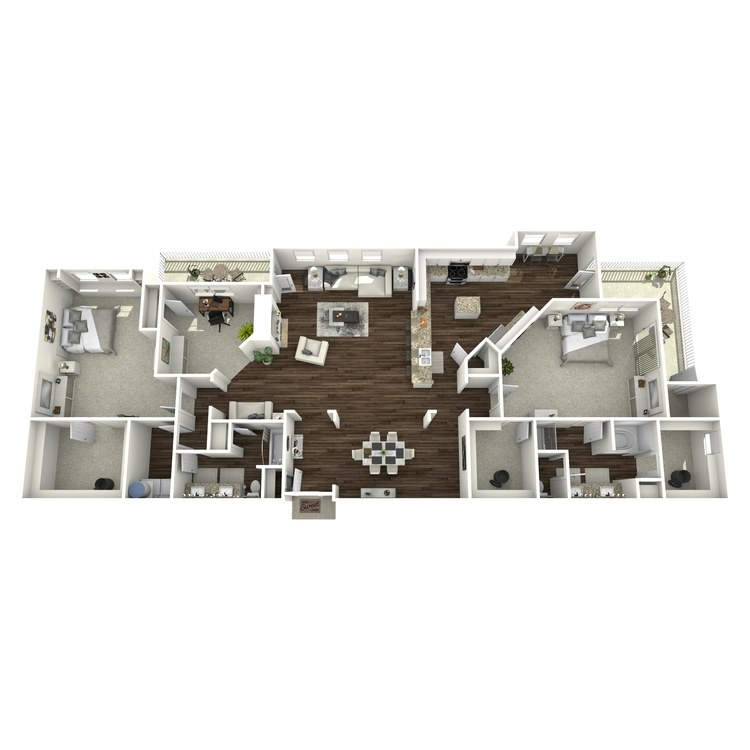Floor plan image of B6-Mayfair
