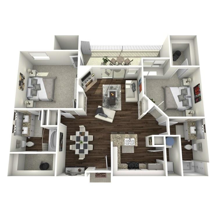 Floor plan image of B1-Mayfair