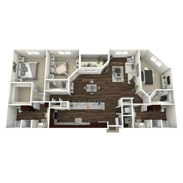Floor plan image of C4-Highland