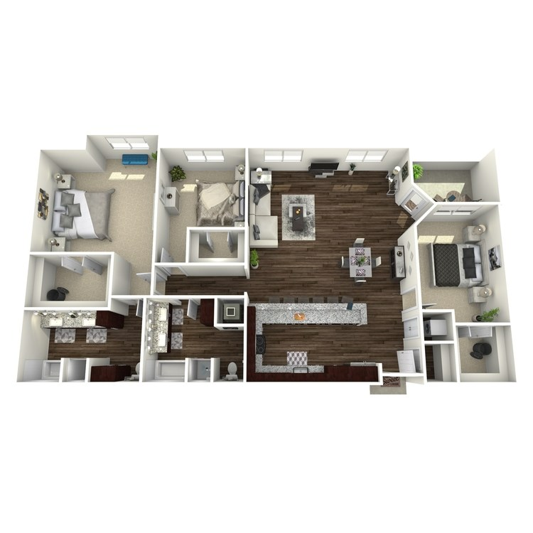 Floor plan image of C3-Highland