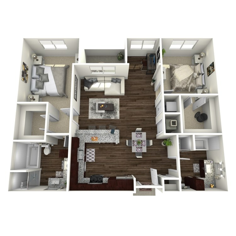 Floor plan image of B4-Highland