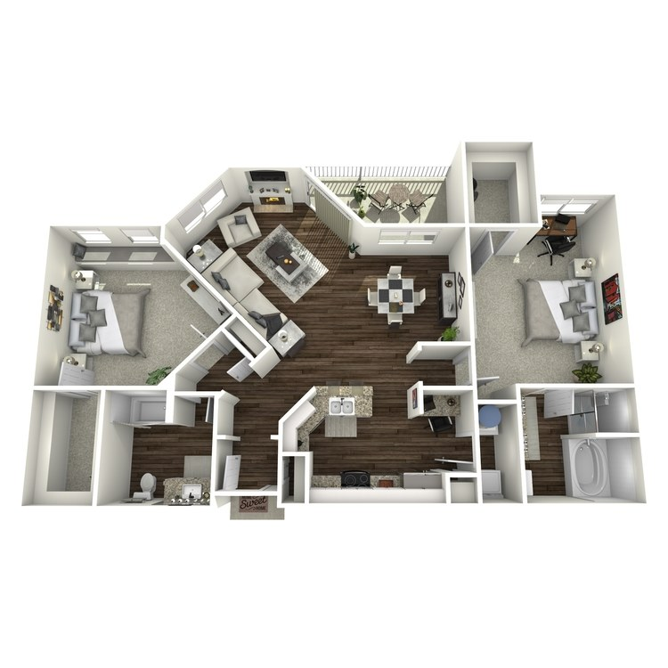 Floor plan image of B3-Mayfair