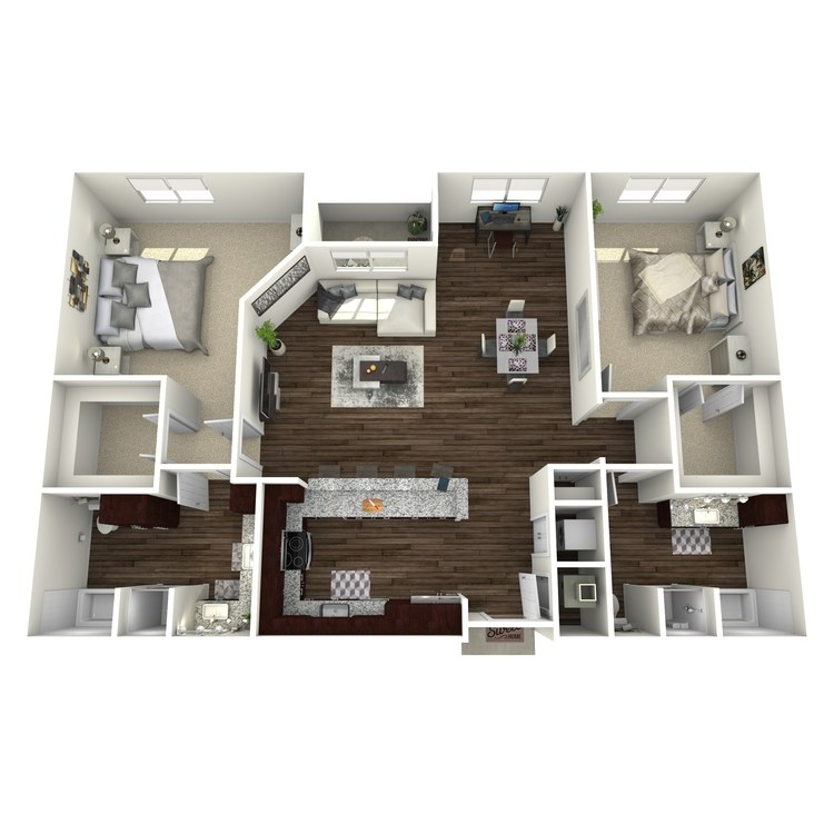 Floor plan image of B6-Highland