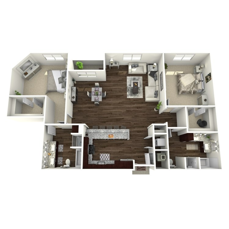 Floor plan image of B9-Highland