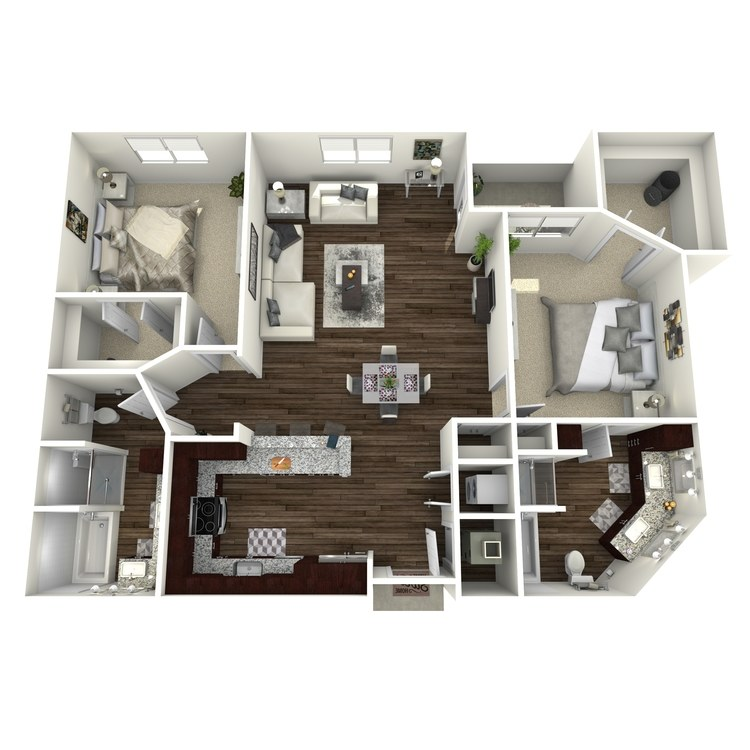Floor plan image of B2-Highland