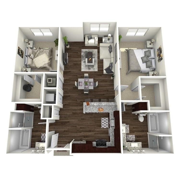 Floor plan image of B5-Highland