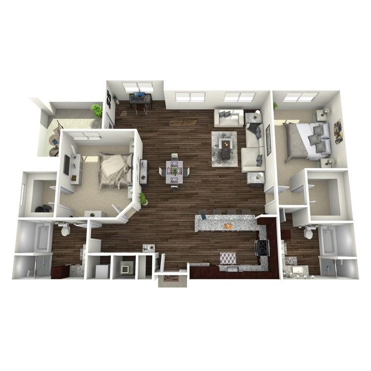 Floor plan image of B8-Highland