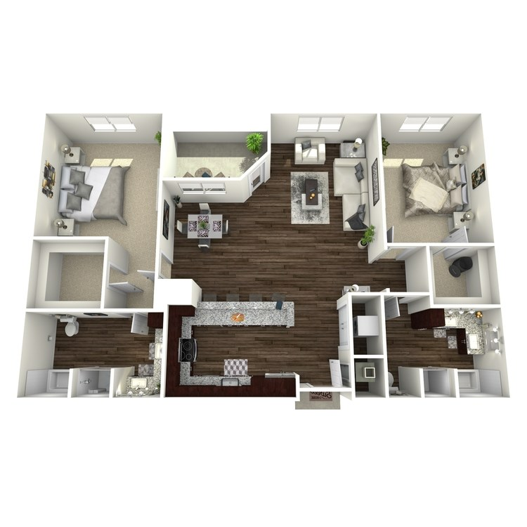 Floor plan image of B3A-Highland