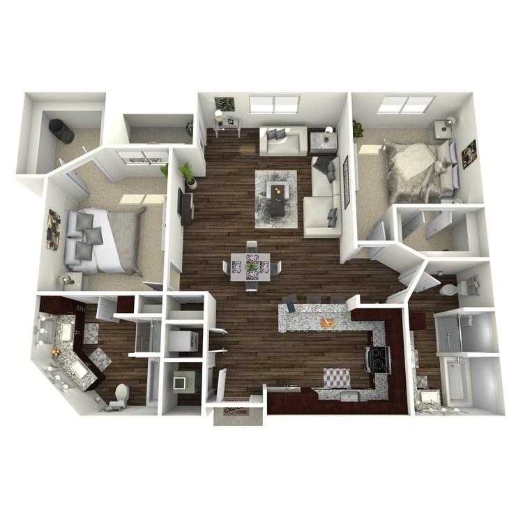 Floor plan image of B2a-Highland