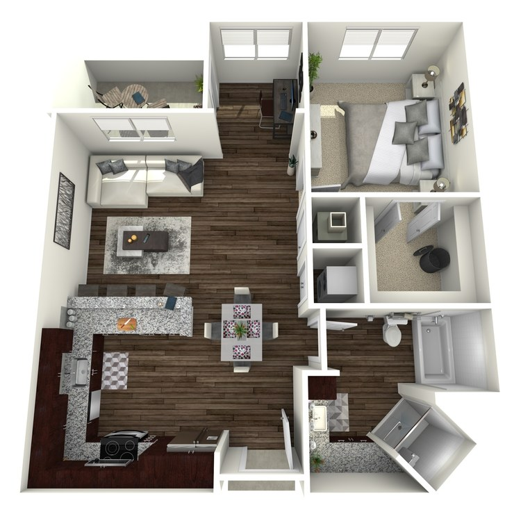 Floor plan image of A2-Highland