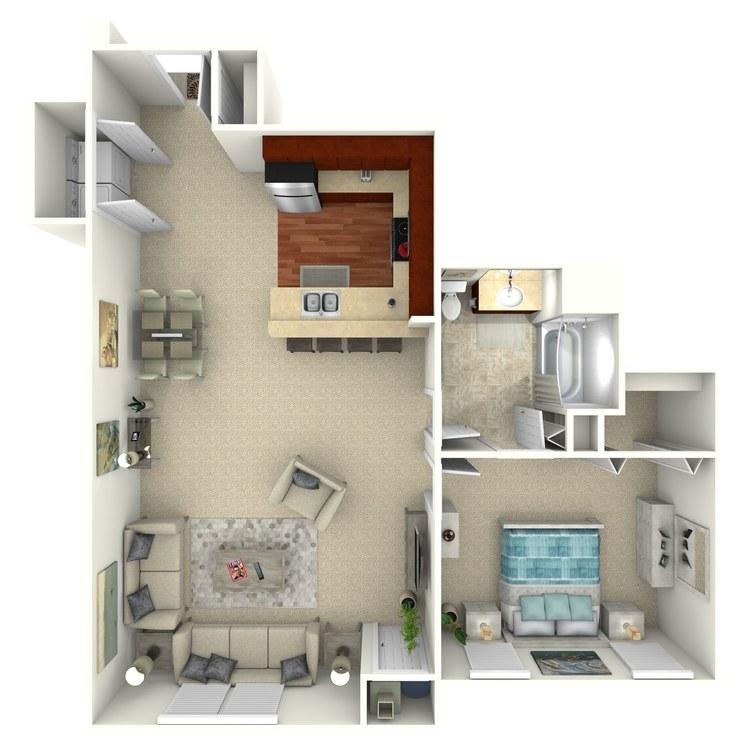 Andover floor plan image