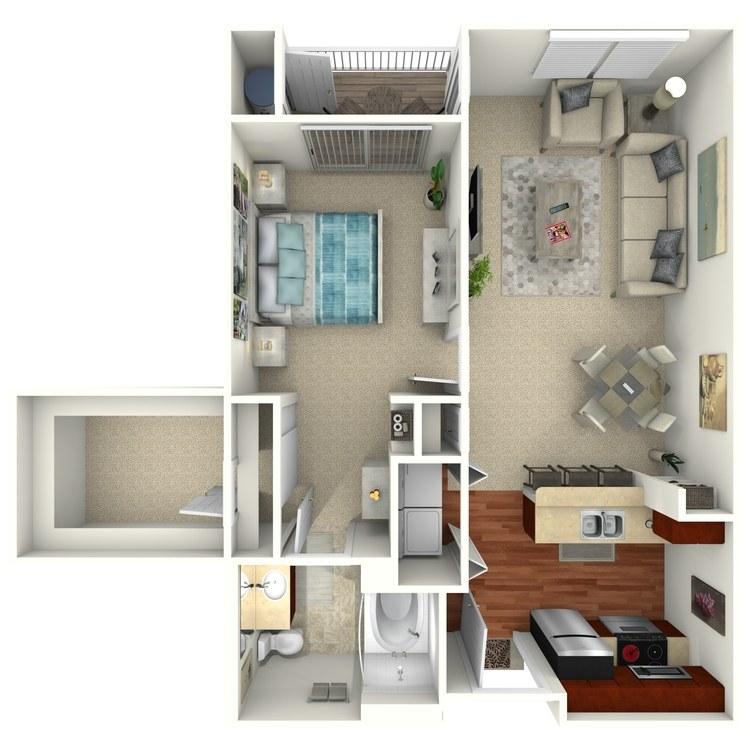 Ashley Select floor plan image