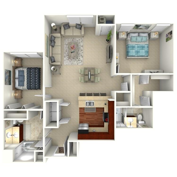 Bethany floor plan image