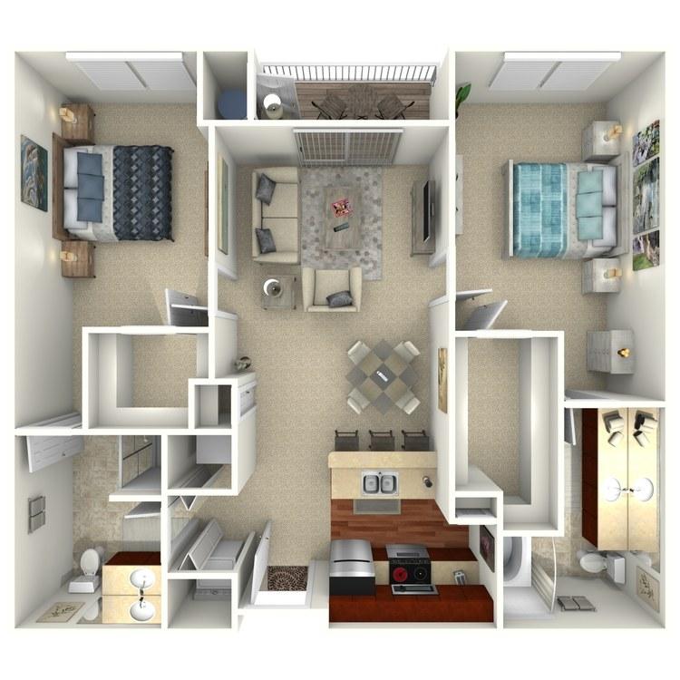 Belmont floor plan image