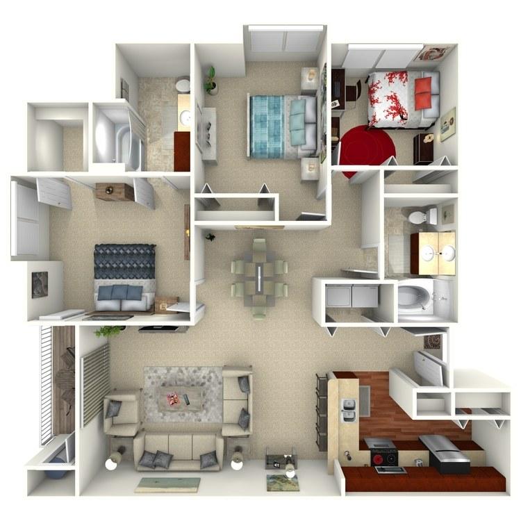 Cambridge floor plan image