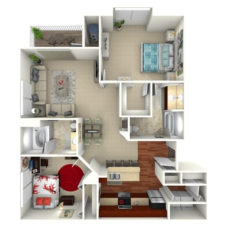 Bradford floor plan image