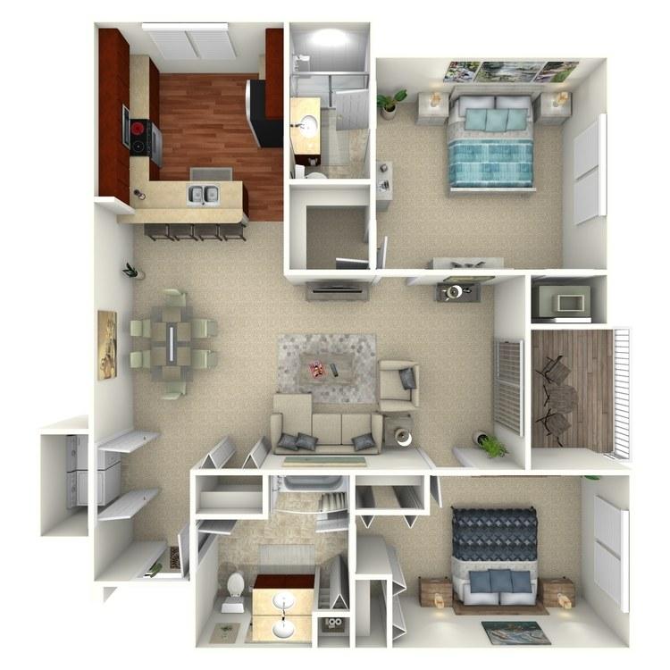 Brookfield floor plan image