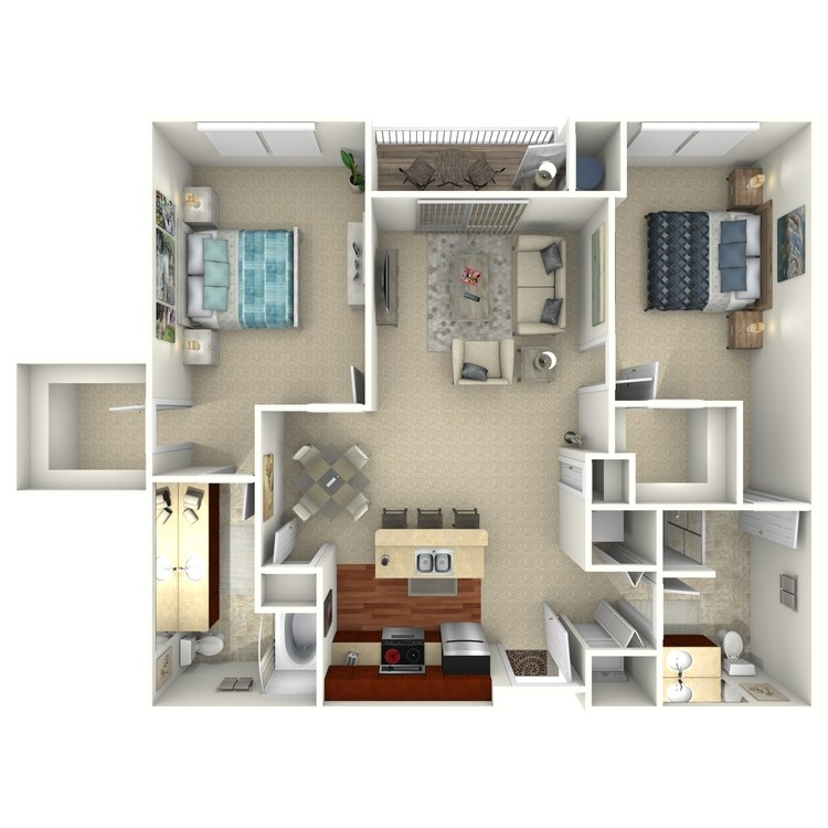 Belmont Select floor plan image
